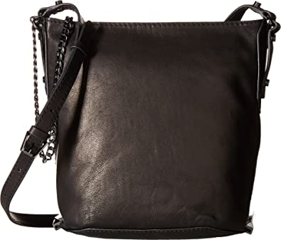 Amazon.com  Botkier Women s Irving Mini Bucket Black Cross Body  Shoes b4cc5a81dbb4e