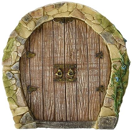 Top Collection Miniature Fairy Garden Enchanted Gnome Home Door  sc 1 st  Amazon.com & Amazon.com : Top Collection Miniature Fairy Garden Enchanted Gnome ...