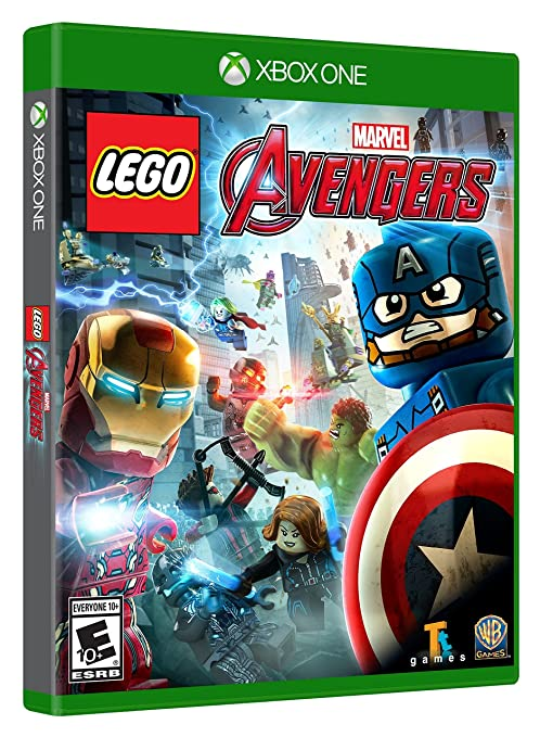 Amazoncom Lego Marvels Avengers Xbox One Whv Games Video Games