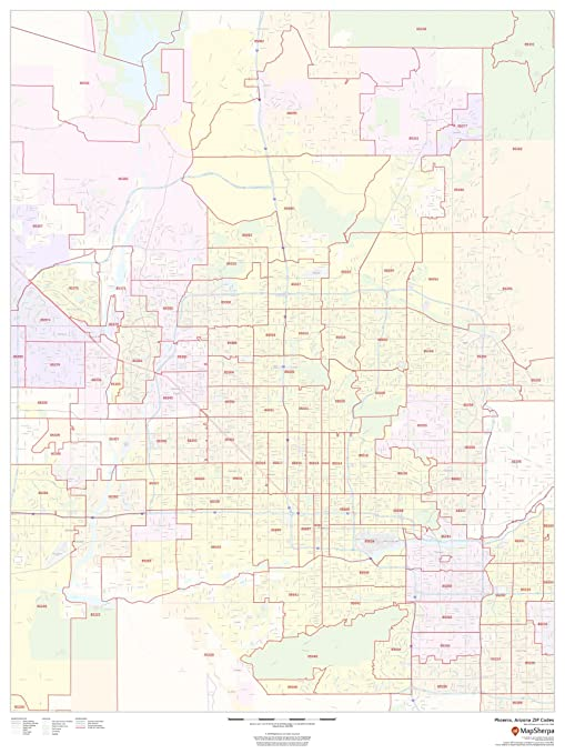 Amazon.com : Phoenix, Arizona Zip Codes - 36