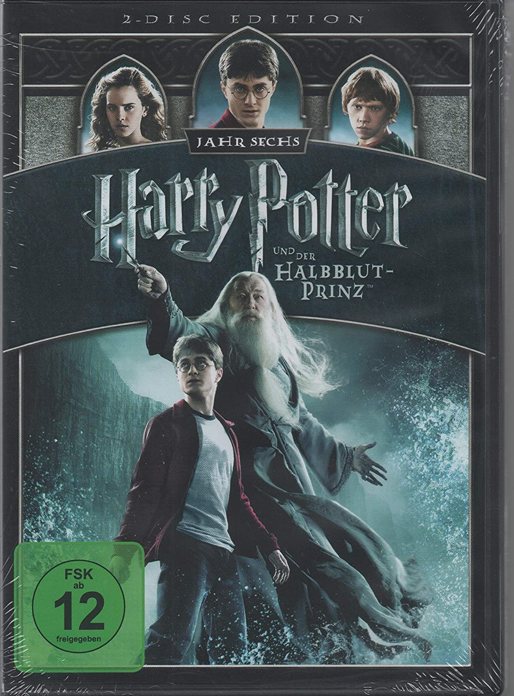 Harry Potter 6 Und Der Halbblutprinz 2 Discs Amazon Co Uk Dvd Blu Ray