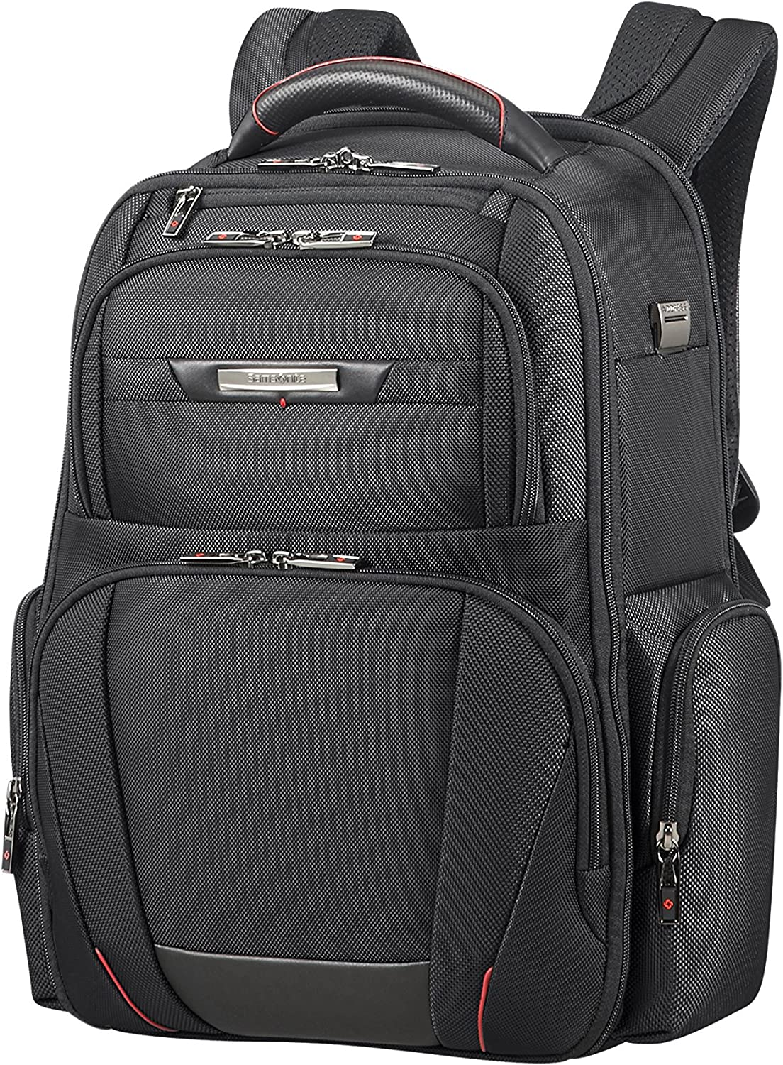 Samsonite PRO-DLX 5 - Backpack for 15.6'' Laptop 1.4 KG Mochila tipo casual, 44 cm, 20 liters, Negro (Black)