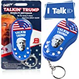 Talking Trump Keychain Funny Gag Sound Machine Toy - 6 Different Sayings in Donald Trump's Real Voice - Classic Quotes…