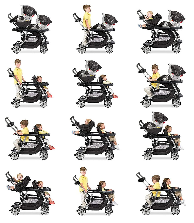 Amazon.com : Graco Ready2Grow LX Stroller | 12 Riding Options