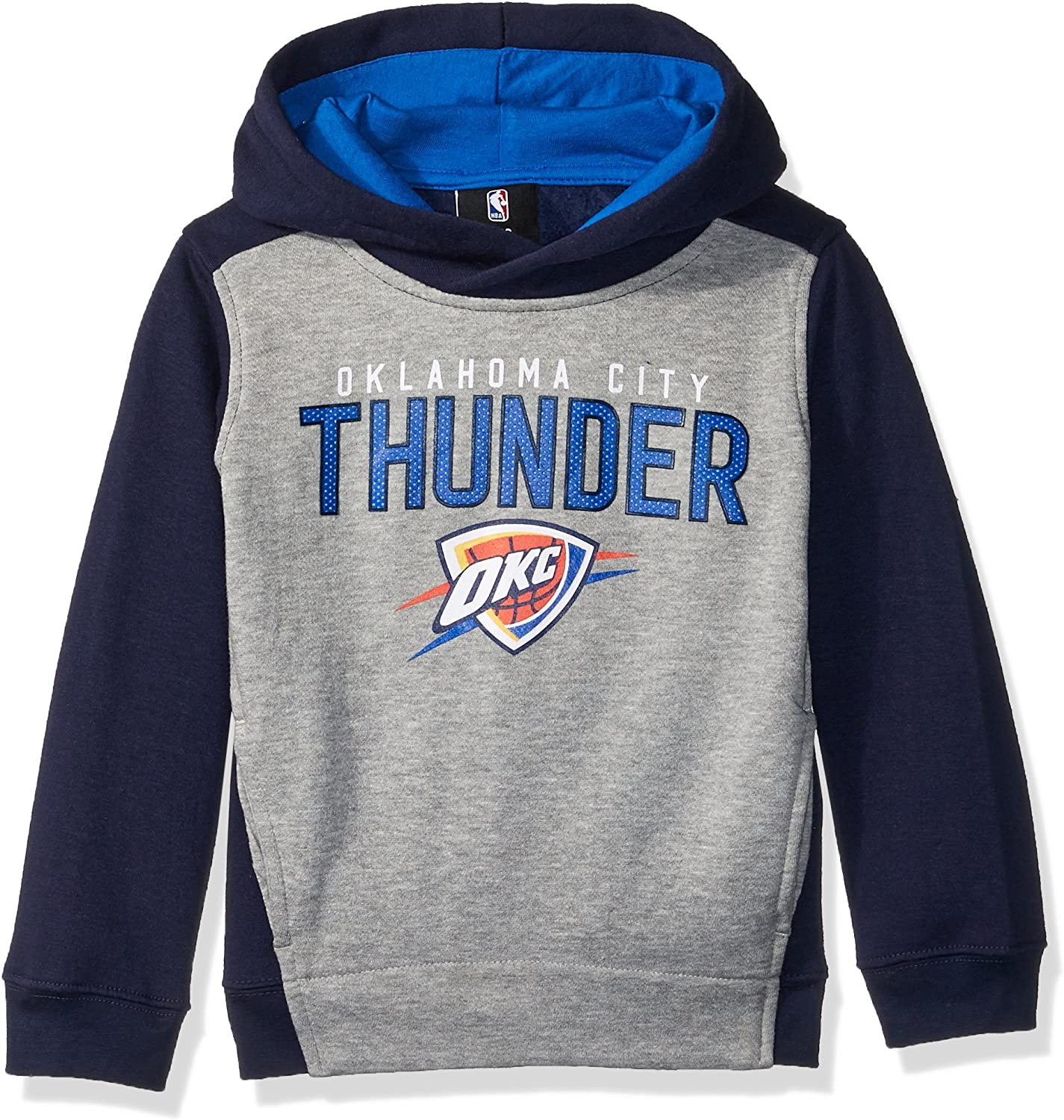 Youth Small Heather Grey 8 NBA by Outerstuff NBA Kids /& Youth Boys New York Knicks Stated Full Zip Fleece Hoodie