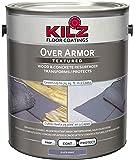 KILZ Over Armor Textured Wood/Concrete Coating, 1 gallon, Slate Gray