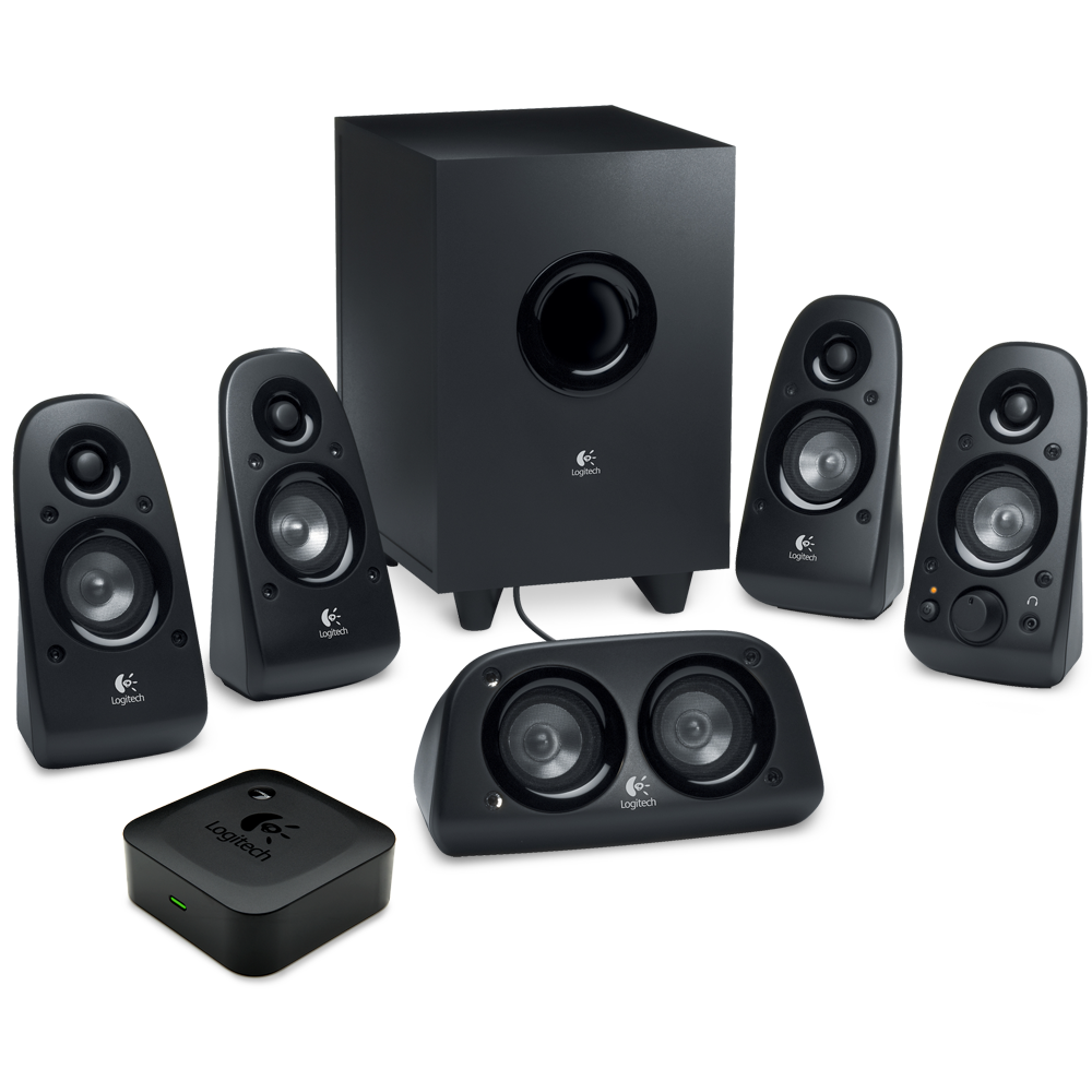 logitech surround sound speakers z506 and. Black Bedroom Furniture Sets. Home Design Ideas