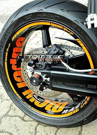 TomTec de Racing® Llanta decorativo para KTM SUPERDUKE SD Duke 950 ...