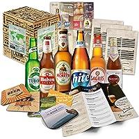 Boxiland - Pack de 6 bières du monde - Livré dans une boîte cadeau - 6 x 0,33 L