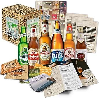 Cervezas de las especialidades (6 botellas) de mundo a las mejores cervezas delmundo dan awaywith caja de regalo (no cerveza barata): Amazon.es: Alimentación y bebidas