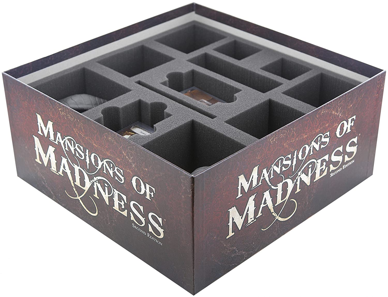 Foam tray value set for Mansions of Madness - 2nd Edition for 2nd Edition  B01MSJDK5H