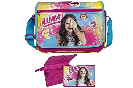 Soy Luna Disney bolsa de hombro Bolso de mano 33 x 24 x 10 + ...