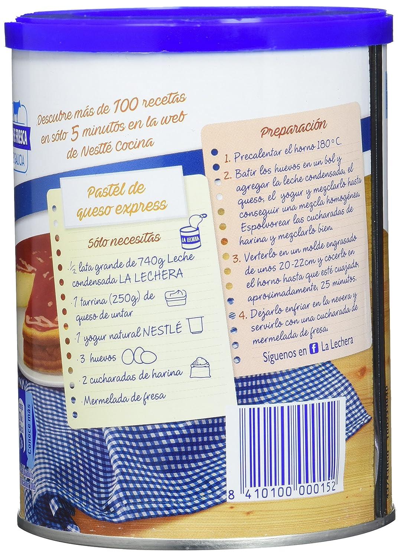 Nestlé La Lechera Leche condensada entera - Lata de leche condensada ...