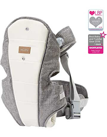 red-Grey Practical Pockets Adjustable Seat DROMADER Baby Carrier Koala 3D Optifit System Baby Toddler Hiking Backpack Carrier with Rain Cover /& Sun Canopy Shield Child/'s up to 22kg