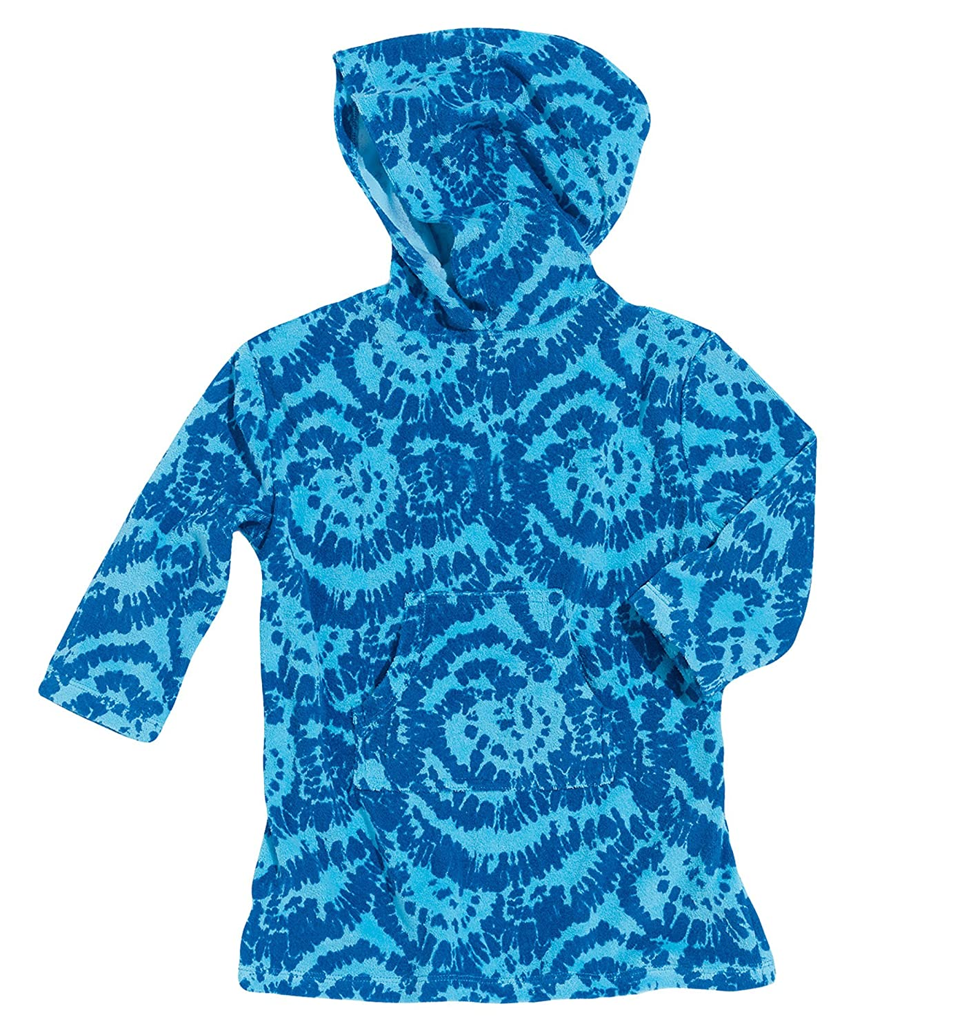Sun Smarties Terry Boys Long Sleeve Hoodie Shirt Swim or Beach Cover-Up UPF50+ 6890316