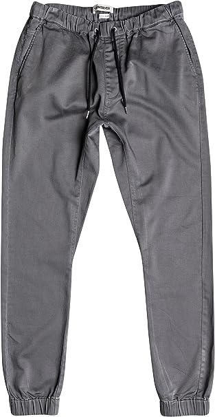 Quiksilver – Pantalones de chándal FONIC Joggers, verde oliva, xx ...