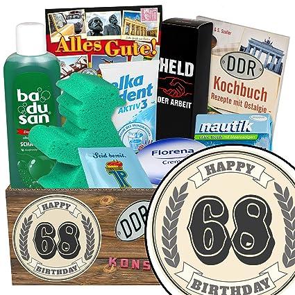 68 Geburtstag Lustige Geschenke Manner Geschenk Set Geschenke