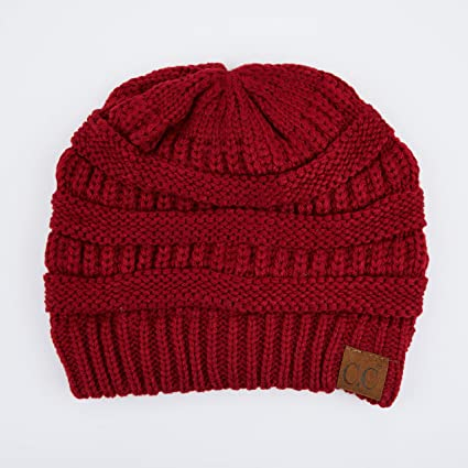 b197b938aca C.C Exclusives Cable Knit Beanie - Thick