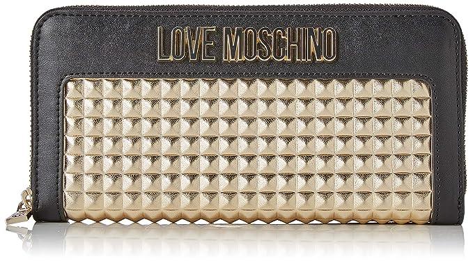 Love Moschino - Portafogli Calf Pu, Carteras Mujer, Dorado ...