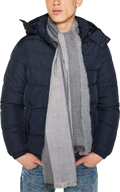 Unica Uomo Taglia Produttore: 1SIZE Grigio ESPRIT Accessoires 129ea2q001 Sciarpa Medium Grey 035