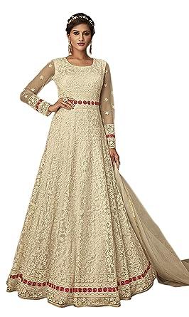 Women Indian Pakistani Designer Ethnic Wedding Wear Anarkali Salwar