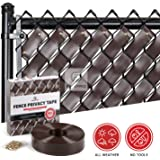 Fenpro Chain Link Fence Privacy Tape (Chocolate Brown)