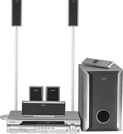 568e6e62722 Amazon.com  Sony DAV-DX375 5.1 Channel DVD Home Theater System  (Discontinued by Manufacturer)  Home Audio   Theater