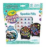 Crayola Glitter Dots, Glitter Art Mosaics, Sparkle Fills, Gift for Kids, 5, 6, 7, 8