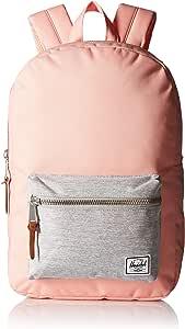 Herschel Supply Co. Settlement Mid-Volume Backpack, Peach/Light Grey Crosshatch, One Size