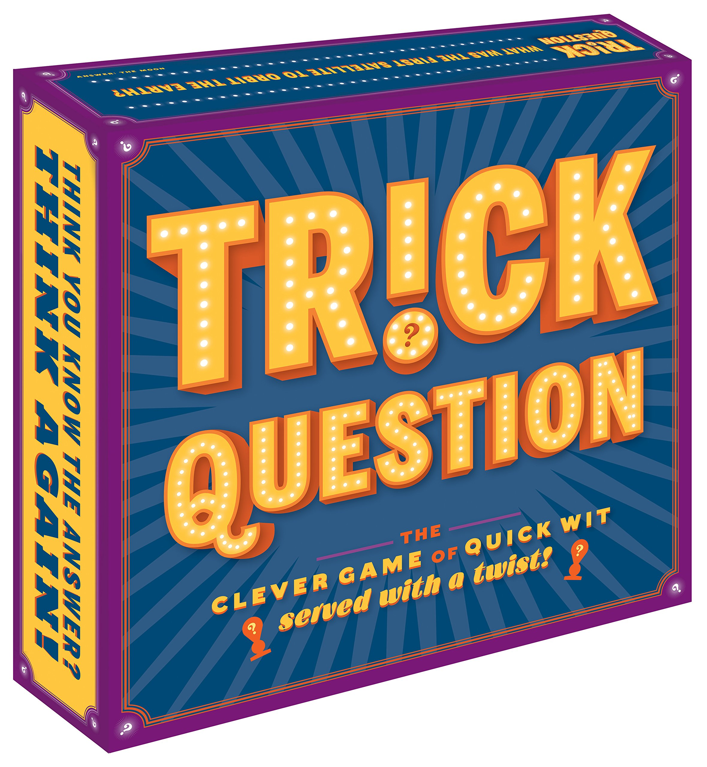 Trick Question: The Clever Game of Quick Wit—Served with a Twist! ebook