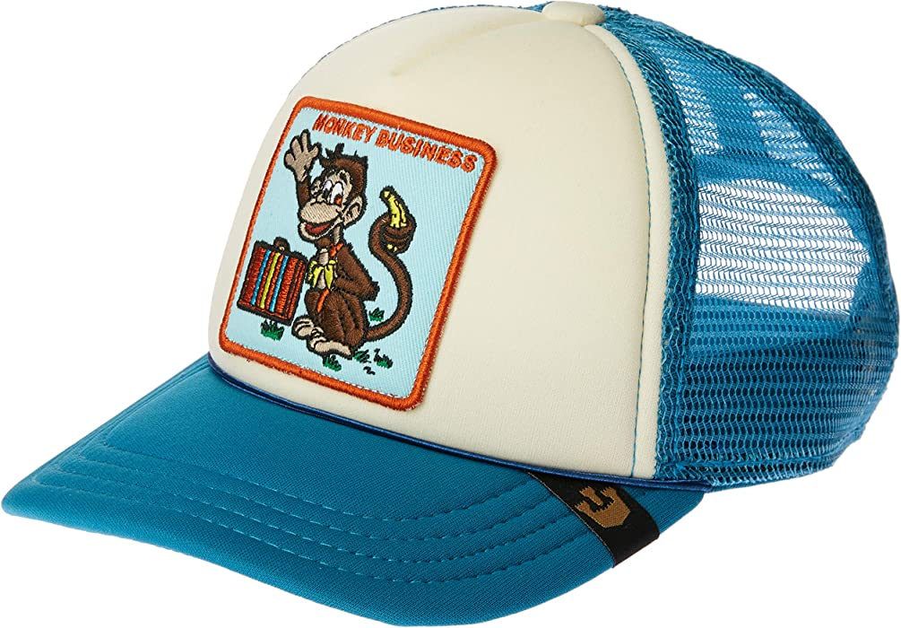 Goorin Brothers Animal Trucker Hat - Kids Monkey Business, One Size