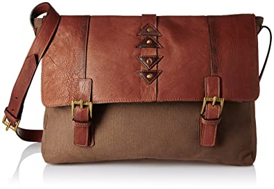 807fb6ba12b Hidesign Maasai Leather Desert Palm Tan Messenger Bag (SIMBA 02 ...
