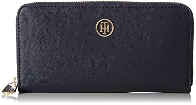 1752566e86c5 Image Unavailable. Image not available for. Color: Tommy Hilfiger Womens  Honey Large Za Wallet Wallet Blue ...