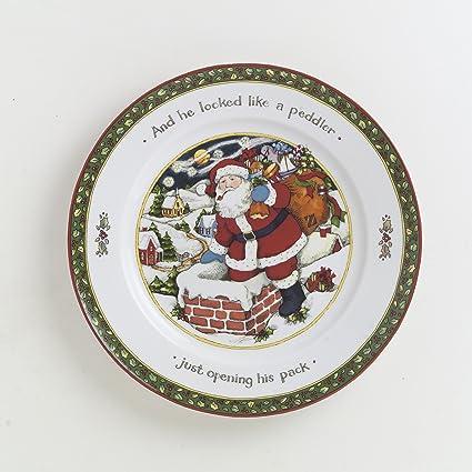 Amazon.com | Portmeirion A Christmas Story Dinner Plates, Series 4 ...