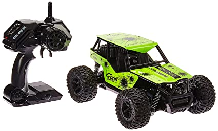 The King Cheetah Turbo Remote Control Toy Green Rally Buggy RC Car 2.4 GHz 1: