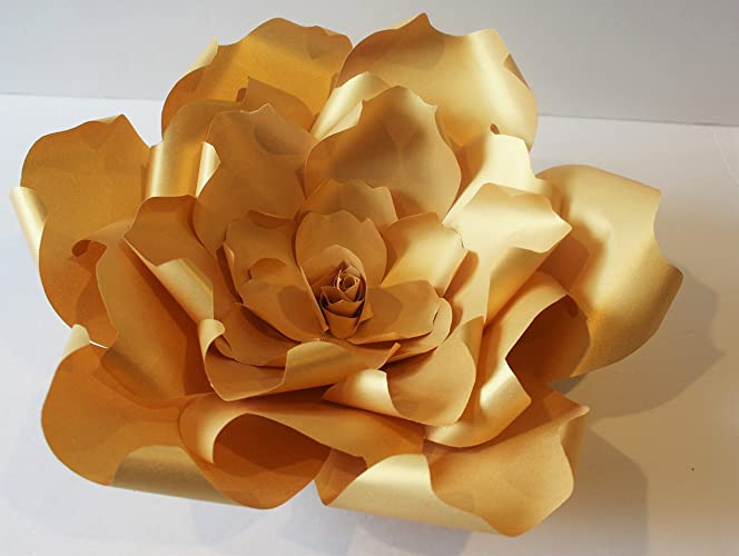 Amazon Gold Giant Paper Flower Paper Backdrop Wedding Flower