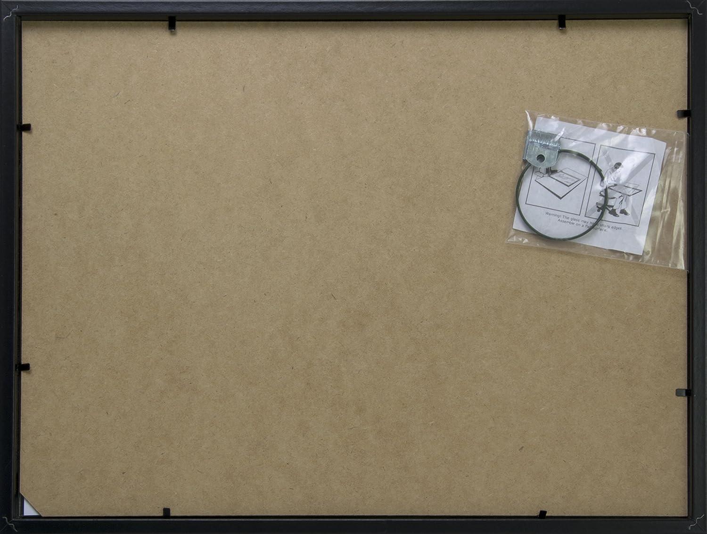 Amazon.de: BD Art 30x40 cm Bilderrahmen mit Passepartout 21x30 cm ...