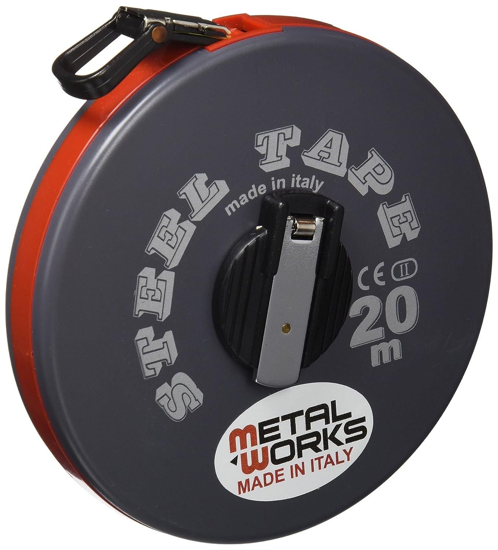 Metalworks - CINTA MÉTRICA METÁLICA 20x13