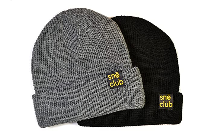snōclub Toque - Canadian Outdoor Adventure Apparel - Canadian Toque in  Black or Charcoal Grey 7e36af98a3b