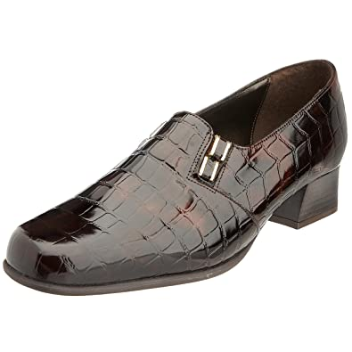 Van Dal Women s Edith Court Bwn Ant Croc 0292310 7.5 UK E  Amazon.co ... 120f26763