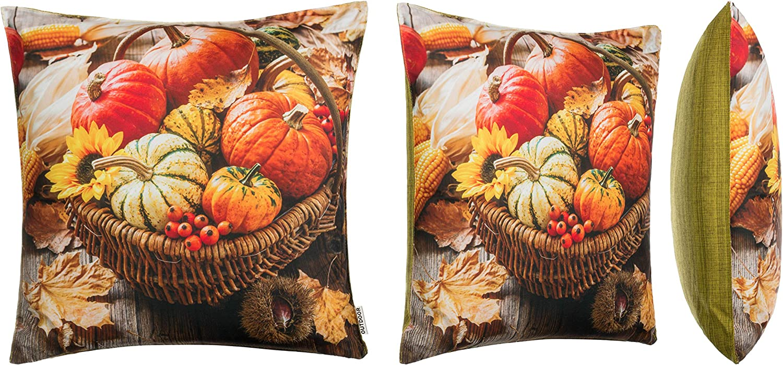 Brandsseller Outdoor Garden Cushion Dirt and Water-Repellent with Zip 45 x 45 cm Decorative Cushion