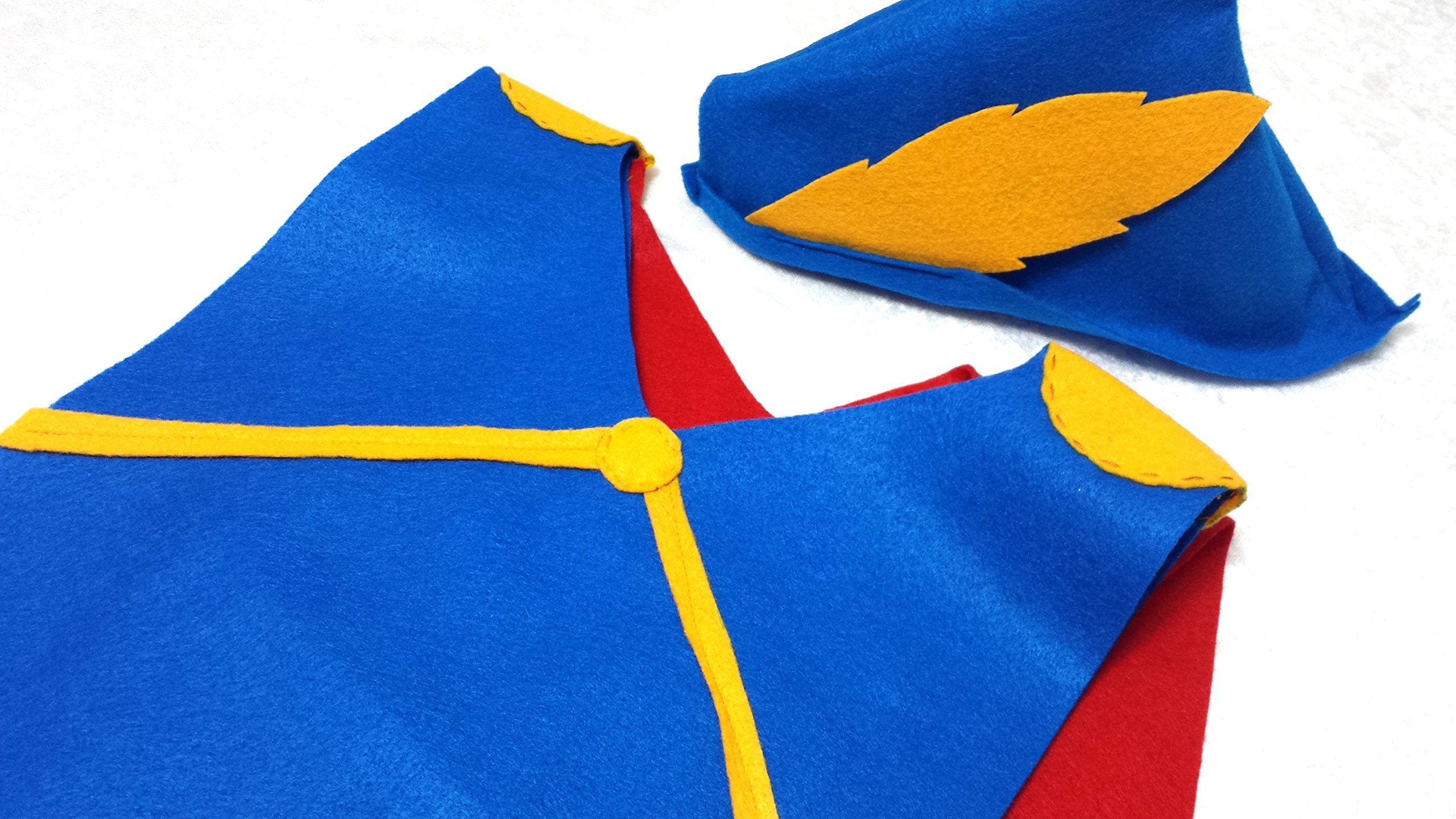 Kids Snow White Prince Costume Tunic - Baby/Toddler/Kids/Teen/Adult Sizes