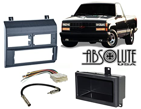 amazon com stereo install dash kit chevy pickup 88 89 90 91 92 931992 Chevy Pickup Wiring Harness #15