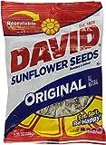 David Sunflower Seeds Original Flavor, 5.25-Ounce Bags (Pack of 12)