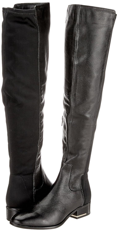 Aldo Bivio, Bottes Motardes Femme, Noir (Black Leather), 40 EU