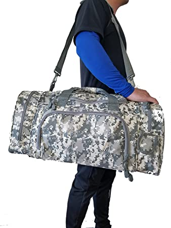 Travel ACU Duffel Bag Camouflage Duffle Gym Luggage Tote 21quot 18quot