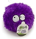 goDog Furballz Tough Plush Dog Toy with Chew Guard Technology Purple Large