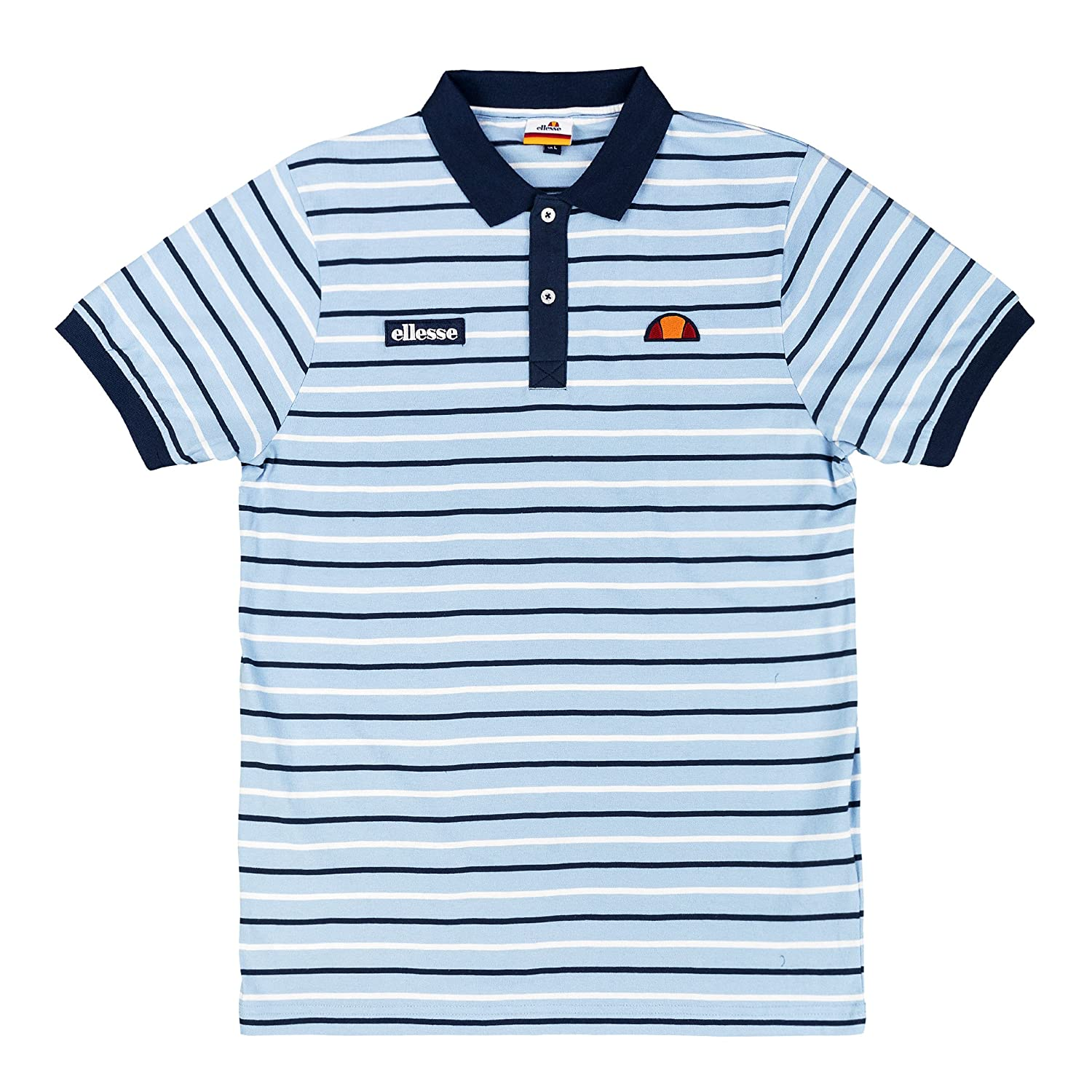 Ellesse - Polo - para Hombre Azul Placid Blue XXXX-Large: Amazon ...