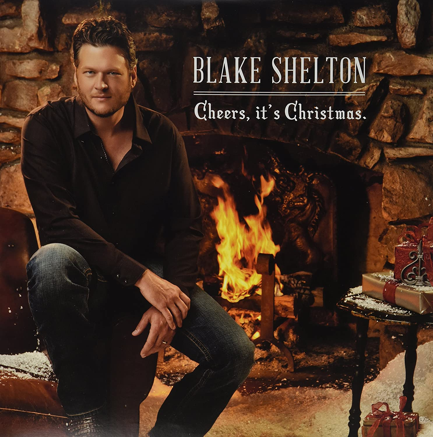 Blake Shelton Cheers Its Christmas.Cheers It S Christmas