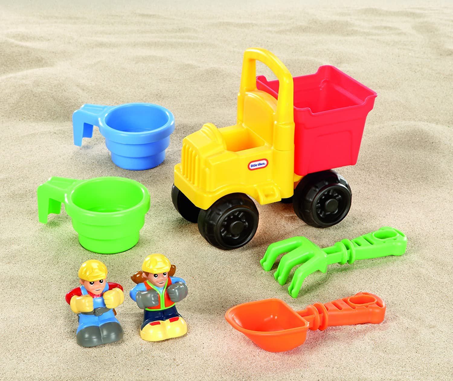 little tikes construction big digger sandbox amazon co uk toys